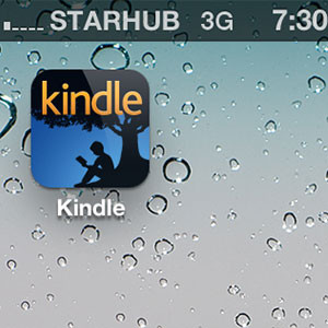 Kindle App for iPhone iPad in Singapore and Malaysia