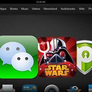 How to Download Apps on Kindle Fire HDX in Singapore and Malaysia