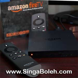 Amazon Fire TV Setup Hands On and Video Demonstration Reviews