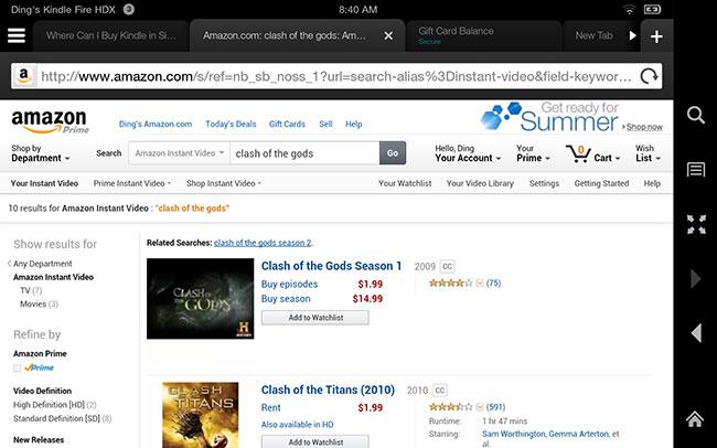 Buy Amazon Prime Instant Video in singapore
