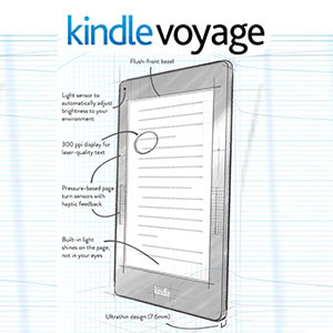 Amazon Kindle Voyage Singapore Released in 2014