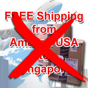 No More Amazon Free Shipping to Singapore, Is This For Real?